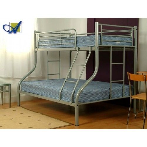 Triple Sleeper Bunk Bed Frame Single And Double Bunk
