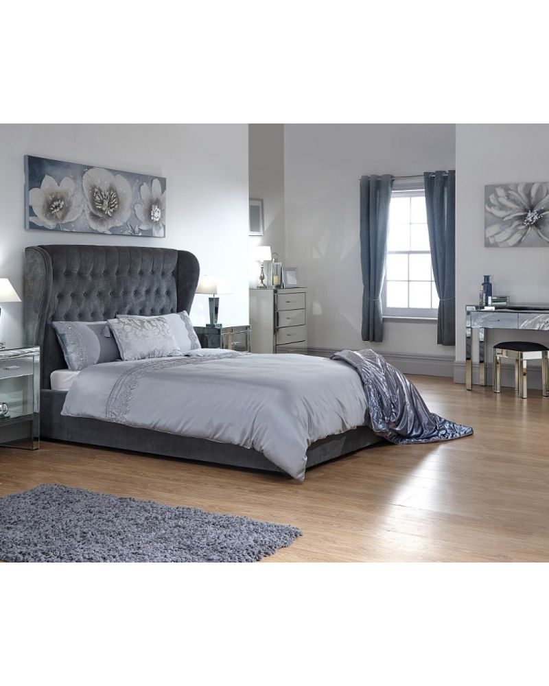 Dakota Ottoman Double Bed Frame