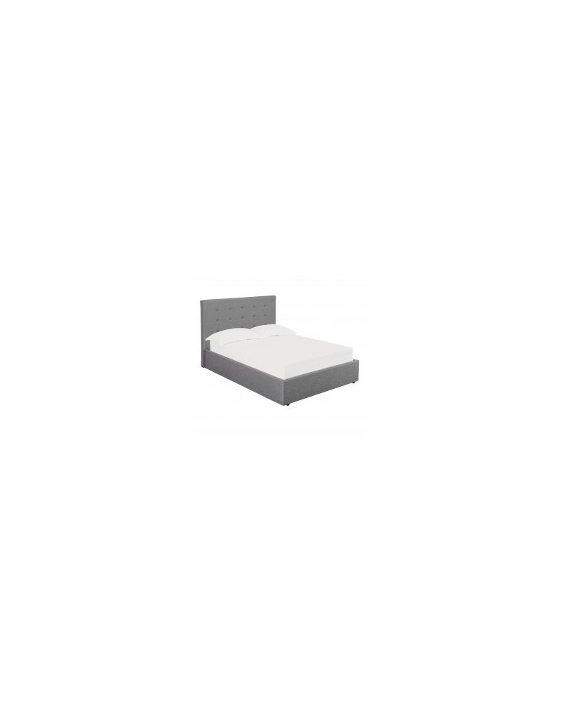 Lucca Double Bed Frame (Grey or Beige)