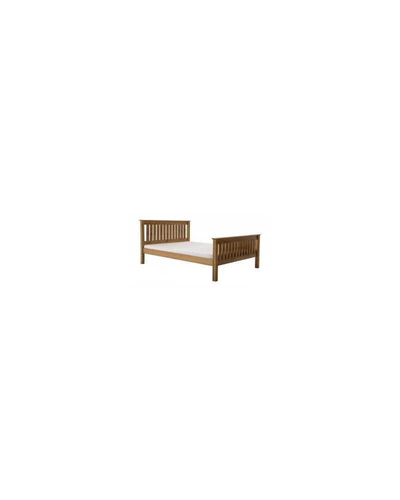 Manila High Foot End Double Bed Frame