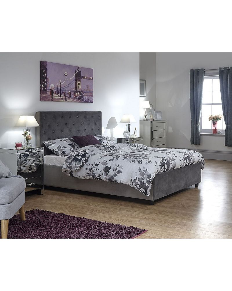 Utah Double Ottoman Bed Frame